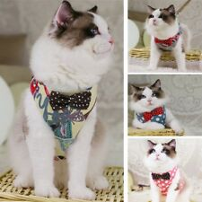 Hot Cat Harness Creative Kitty Chest Vest & Leash Set Pet Cosy Travel Accessory