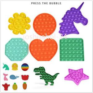 Push Pop Pop Bubble Sensory Fidget Toy Autism Stress Relief Silent Classroom