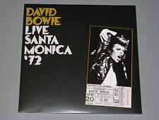 DAVID BOWIE Live Santa Monica '72 180g 2LP  New Sealed Vinyl 2 LP