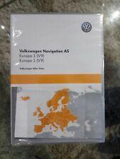Vw volkswagen nav GPS navigation V9 carte sd card europe 5NA919866