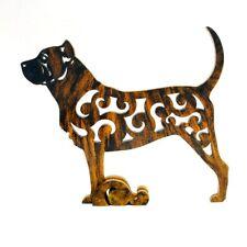 Dog Dogo Canario, Perro de Presa figurine, statuette made of wood (MDF), statue