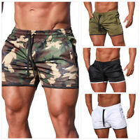 Men's Fitness Sports Shorts Football Pants Gym Workout Training Running Short AU