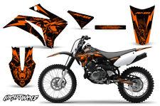 Yamaha TTR125 Dirt Bike Graphic Sticker Kit Decal Wrap MX 2008-2018 NIGHTWOLF O
