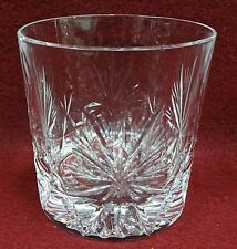 EDINBURGH crystal STAR OF EDINBURGH pattern Old Fashioned Glass Tumbler - 3-3/8""