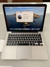 Macbook Pro 13 16gb ram 250gb SSD Drive
