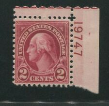 1928 United States Postage Stamp #634A Mint Never Hinged F/VF OG Certified