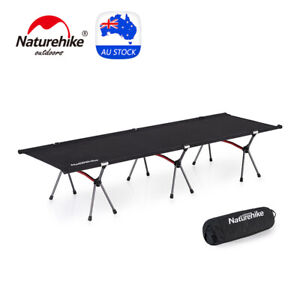 Naturehike Folding Camping Bed Portable Lightweight Camp Beds Height-adjustable