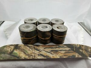 """Mossy Oak Camouflage Tape 2""""×10' 6 Rolls - Hunting - Airsoft - Gun - Bow.."""