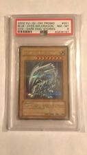 Blue Eyes White Dragon DDS-001 Yu-Gi-Oh! DARK DUEL STORIES EXCLUSIVE PSA 8