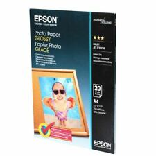 Epson A4 Glossy Photo Paper 200gsm Pk20 - EP52943