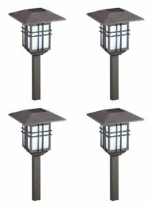 (4) Malibu Solar LED Hanging Garden Outdoor Yard Landscape Light 300% BRIGHTER