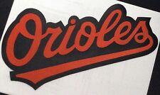 HUGE BALTIMORE ORIOLES IRON-ON PATCH - 5