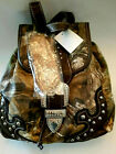 REAL TREE WOMANS APG, CAMO WOODLAND BACKPACK, BRAND NEW, W/TAGS, FREE SHIPPING