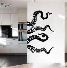 Wall Decal Vinyl Art Octopus Tentacle Design Sea Animal Mural for Home Decor