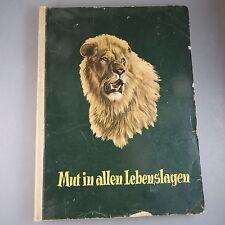 Sammelbilderalbum: Edeka Mut in allen Lebenslagen 1954 (41893)