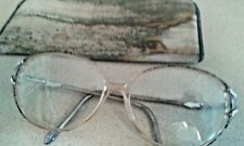 Vintage Lois Color #2 130 Silver Dollar Ladies Glasses,,, Bakelite Frame?