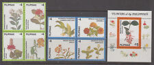 Philippine Stamps 1998 Flowers of the Philippines 8v set & souvenir sheet  MNH