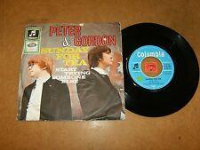 PETER & GORDON - SUNDAY FOR TEA - START TRYING SOMEONE ELSE   / LISTEN - POP