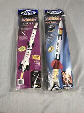 2 Estes Model Rocket Kit - Vanguard Spacecraft Eagle 2193 Army Patriot 2056