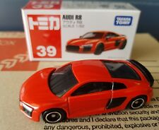 Tomica #39 - Audi R8 - Red factory sealed and unopened box.
