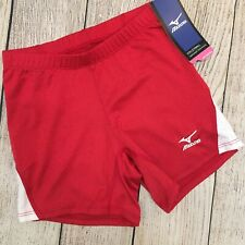 New Mizuno DryLite Women's 440275 Vortex Spandex Volleyball Shorts -XS X-Small