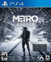 Metro Exodus (PlayStation 4, PS4) Brand New Sealed