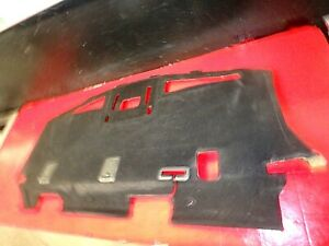 06-09 FORD FUSION REAR BACK SHELF DECK COVER TRIM TRAY CARPET LINER BEHIND SEAT