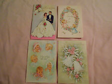 LOT OF 17 VINTAGE GREETING CARDS...GREAT FOR CRAFTING