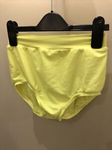 Yellow High Waisted Dance Knickers Under 12 ADFP IDTA slow Solo Freestyle