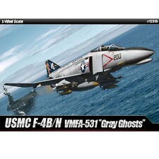 [Free Shipping] ACADEMY Plastic 1/48 USMC F-4B/N VMFA - 531 Gray Ghosts #12315