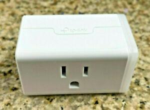 TP-LINK HS105 WiFi Google Alexa Smart Plug / Outlet  White - 15A Max Output