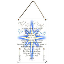 THE LORDS PRAYER. Aluminium Wall Sign Gift Can Be Personalised. Wall Plaque Gift
