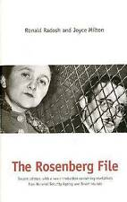 Rosenberg File: Second Edition (Updated), Acceptable, Radosh, Ronald, Book
