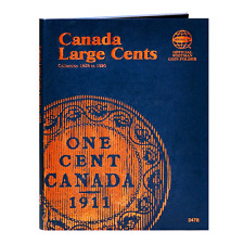 """""""WHITMAN"""" CANADA LARGE CENTS 1858-1920 FOLDER NEW WITH FREE SHIPPING!!"""