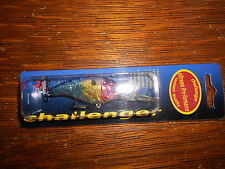 CHALLENGER BASS FISHING LURE BAIT TACKLE CRANK BAIT TW-DCB-TFS THREADFIN SHAD