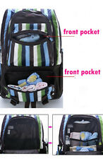Colorland Designer Mums Baby Diaper Nappy Changing Bag Backpack 2Pc