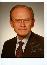 Donald E Petersen Ford Motor Company CEO & Chairman Signed Autograph Photo