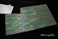 Prism Abalone Narrow Adhesive Veneer Sheet (MOP Shell Overlay Nacre Luthier)