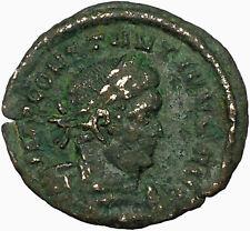 Constantine I The Great  313AD Ancient Roman Coin  SOL INVICT Sun God  i34822