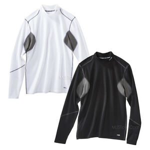 NWT C9 Champion Advanced Duo Dry Warm Men Power Core Fitted Workout Gear Shirt