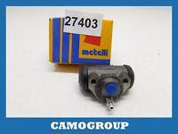 Cylinder Rear Brake Rear Wheel Brake Cylinder Metelli FIAT 500 040001