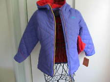 New Pacific Trail Girls' Puffer Purple Jacket with Neck Warmer Size L $75