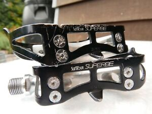 SunTour SUPERBE pedals vtg mtb Ritchey MASI Campagnolo road touring BMX MP-1000