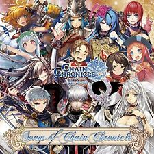 Japan New Songs of Chain Chronicle Apple iOS and Android Game Music CD