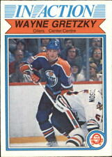 1982-83 O-Pee-Chee Oilers Hockey Card #107 Wayne Gretzky IA