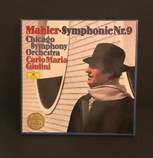 DGG DG Mahler Symphony No. 9  Double LP Box Near Mint