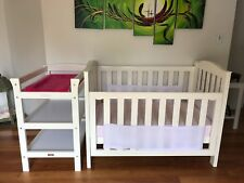 Baby cot change table