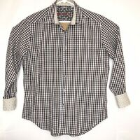 Robert Graham Men's Long Sleeve Flip Cuff Shirt Size Medium