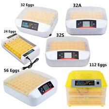 Ridgeyard 24/32/112 Digital Egg Incubator Hatcher Temperature Control Chicken