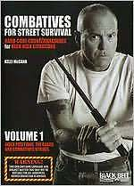 COMBATIVES FOR STREET SURVIVAL 1 INDEX POSITIONS (K McCann) - DVD - Region Free
